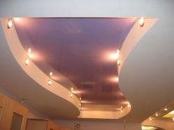 Ремонт потолка. Подвесной потолок из гипсокартона.