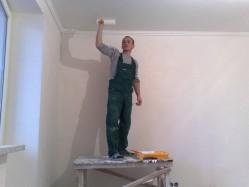 Традиционный ремонт потолка